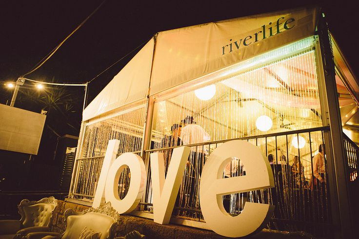 Riverlife wedding | Amini Concepts styling | Love letters