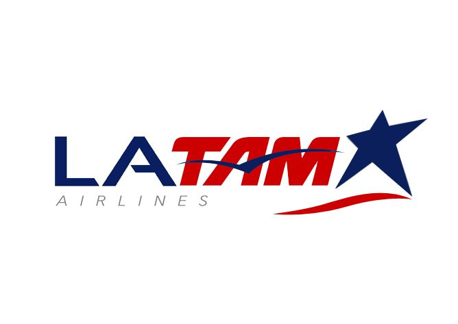 logo for newly merged LAN and TAM airlines