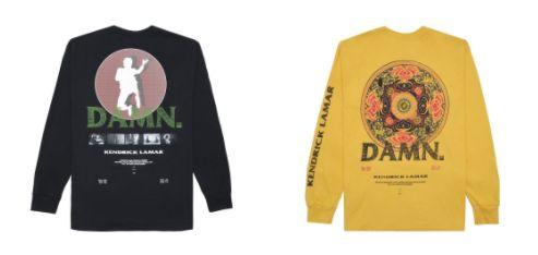 Kendrick Lamar releases DAMN. merch capsule collection