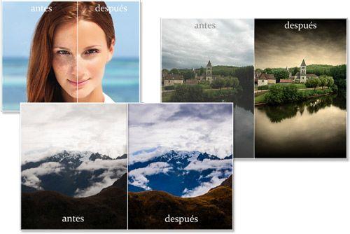 Retoque Fotográfico con Photoshop - Es un Curso que te explica paso a paso.