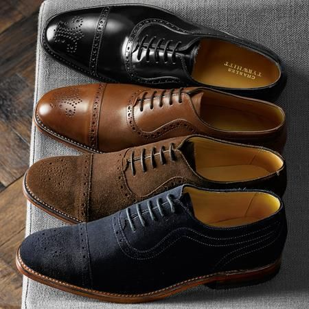 Red tape shoes wingtips