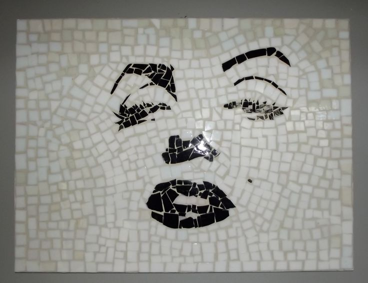 Marilyn Monroe Mosaic SALE by grandrivermosaics on Etsy