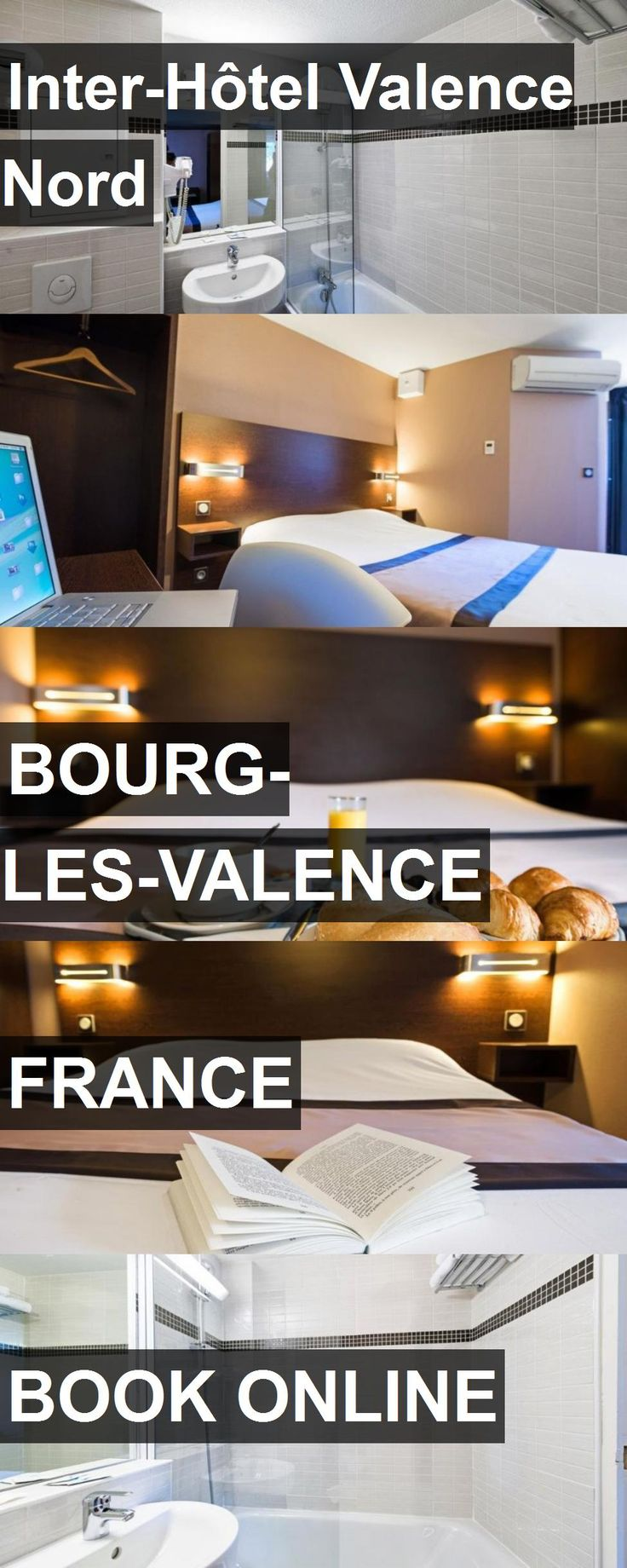 Hotel Inter-Hôtel Valence Nord in Bourg-les-Valence, France. For more information, photos, reviews and best prices please follow the link. #France #Bourg-les-Valence #travel #vacation #hotel