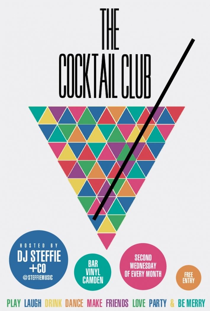 The Cocktail Club Flyer