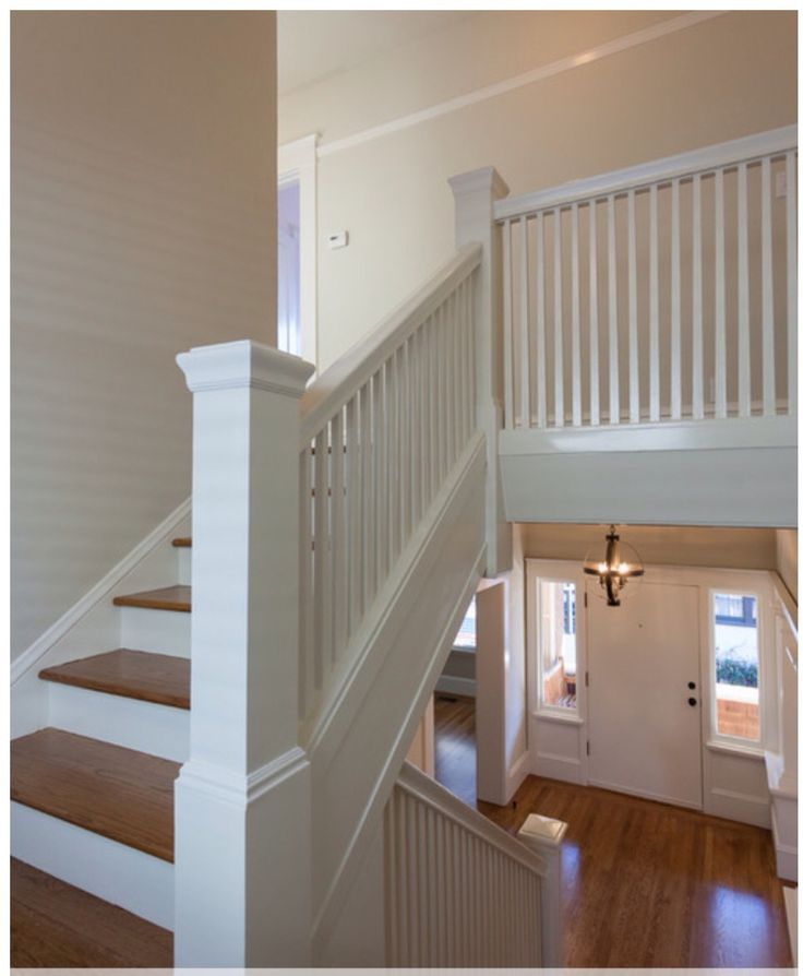 Closed stringer Staircase design, Cottage staircase