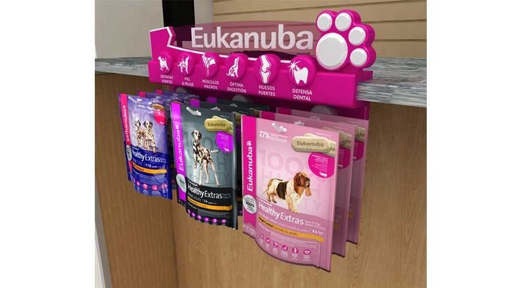 Dog food Eukanuba #display