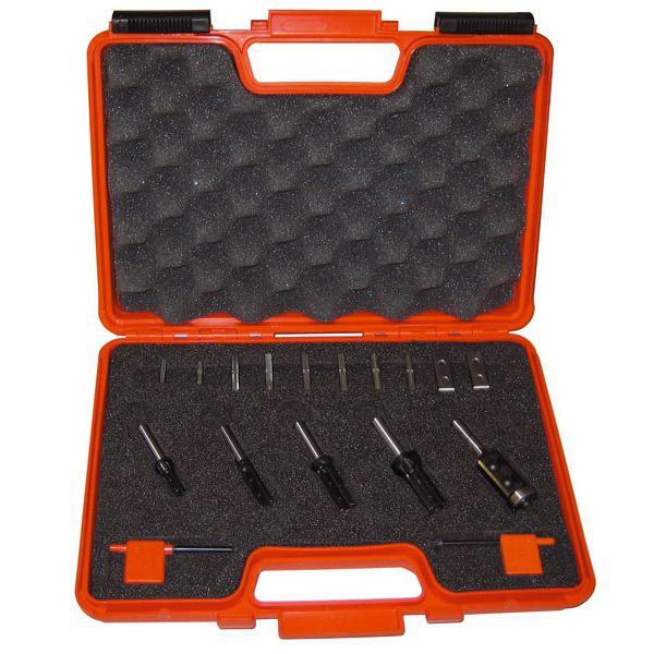 Set di 5 frese con coltellini reversibili #setfrese #setfrese #fresa #cmt #lavorazionelegno #lavorarelegno #wood #hobbylegno #utensililegno #attrezzilegno #attrezzifalegnami #utensilifalegnami