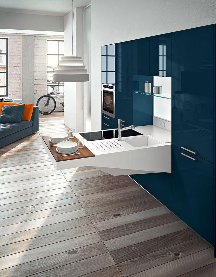Kitchen Interior Design Higly Versatile Board Compact