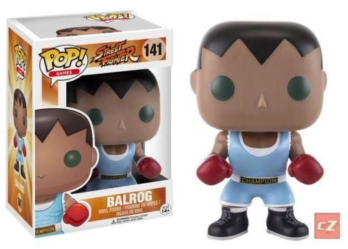 Funko Pop! Games: Street Fighter Balrog #141 *New In Box*