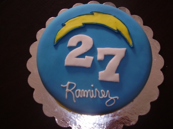 San Diego Chargers Cake Ideas And Designs