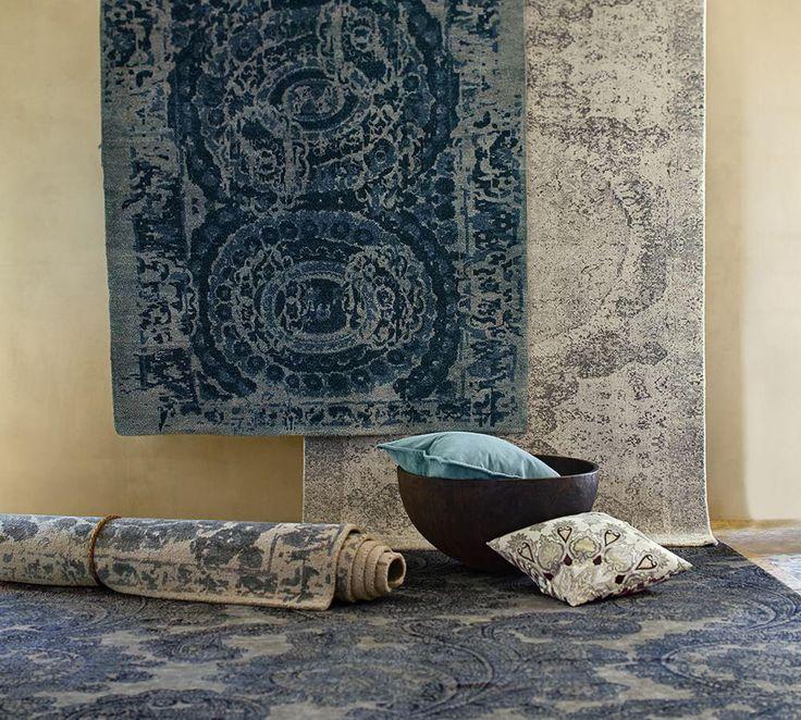 Pottery Barn - Barret Grey Wool Rug 244x305