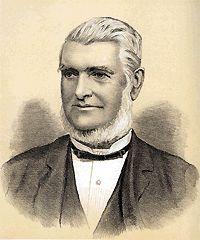 Mr Henry CLARKE (1822-1907) - Member of the NSW Legislative Assembly, Member for Eden and Bega. Father of Charlotte Jane Clarke, married Alexander James Kiss, 1882 at Randwick, New South Wales, Australia.