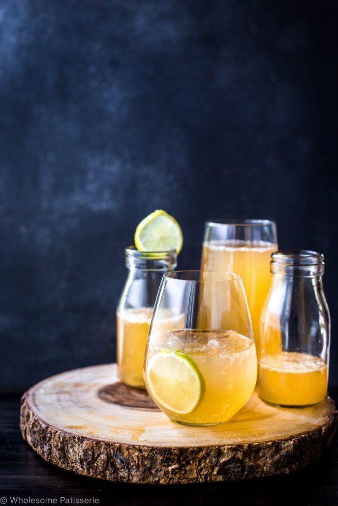 Apple + Citrus Soda's #nonalcoholicsummerdrinks A refreshing healthy nonalcoho…   – Para