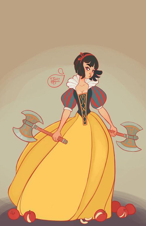 Disney Princess Warriors Fan Art http://geekxgirls.com/article.php?ID=5748