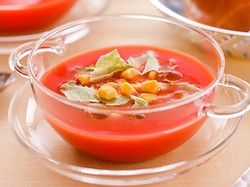 簡単!ひんやり冷製トマトスープ