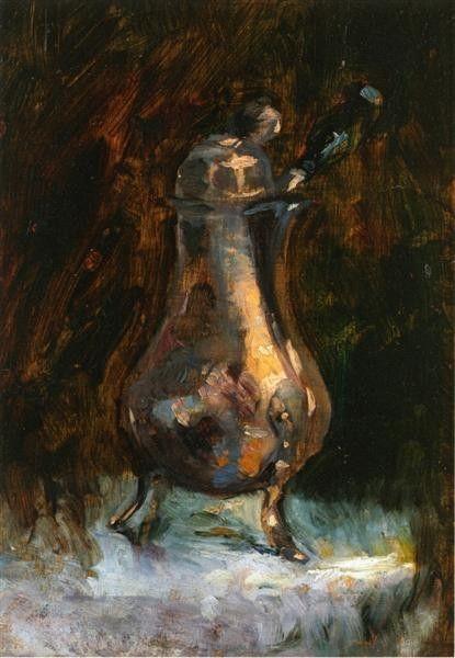 Henri de Tolouse-Lautrec, Coffee Pot, 1884, Private collection