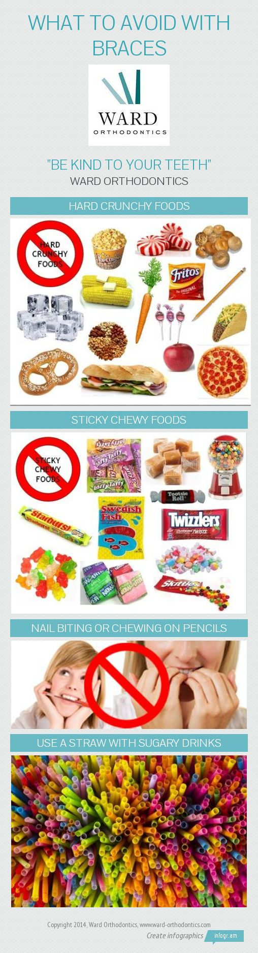 Do And Dont S To To Foods With Braces
