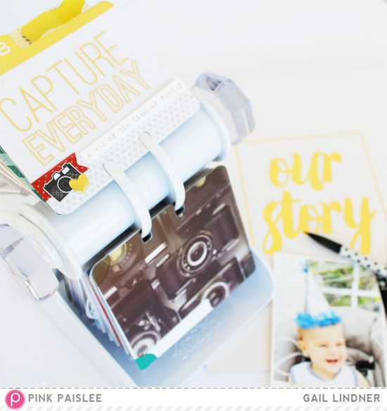 MemoryDex: A-Z of Everyday Moments @gail_lindner @pinkpaislee #pinkpaislee #ppmemorandum #scrapbooking  #DIY