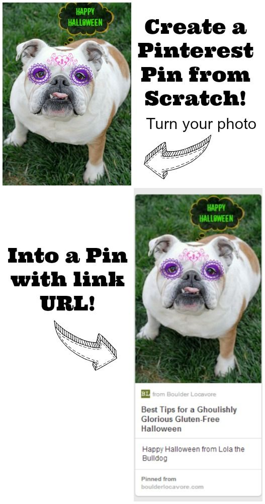 Create a Pinterest Pin with URL link from your photo - BoulderLocavore.com