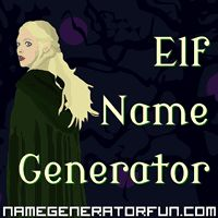 The Elf Name Generator: Create elf names using a random generator