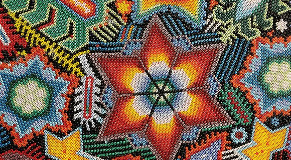 The Huichol and Czech PRECIOSA seed beads in Mexico