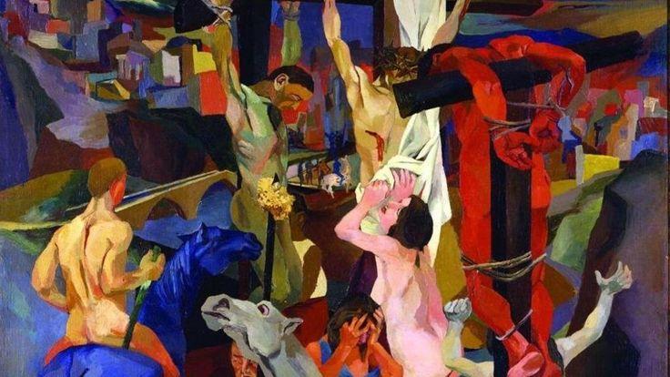Renato Guttuso, Crocifissione - CoSA | Contemporary Sacred Art