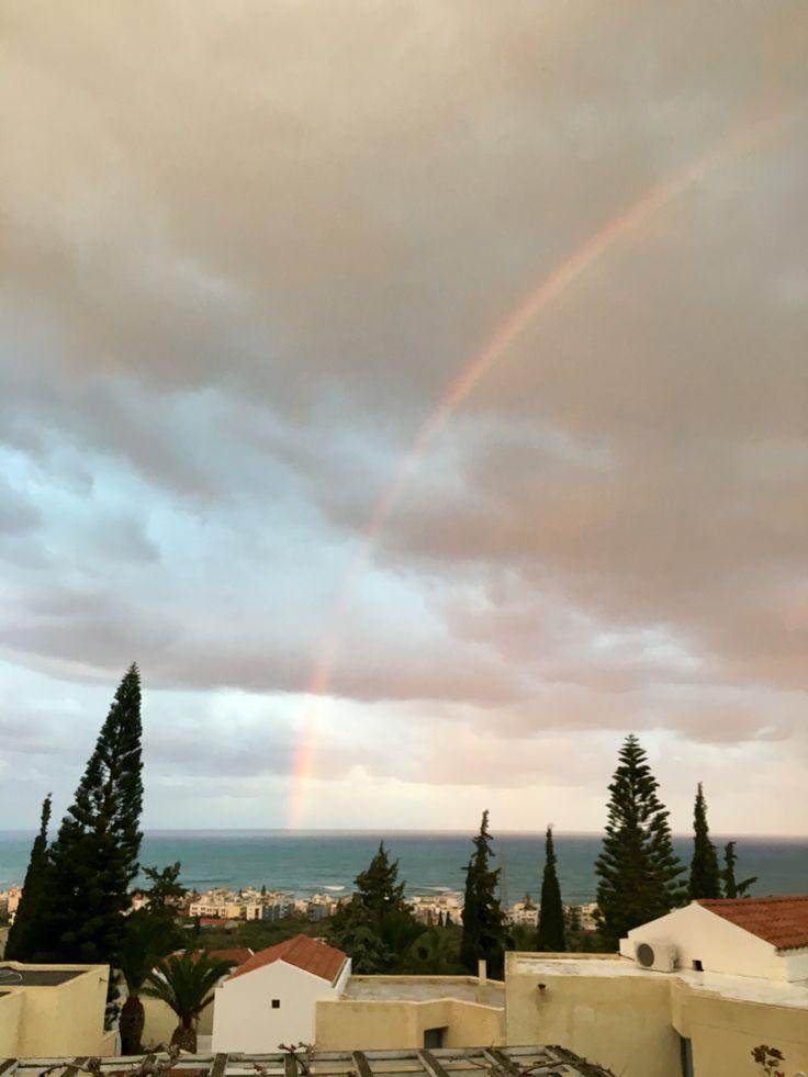 Rainbow in Christmas Eve ✨🎄🌈