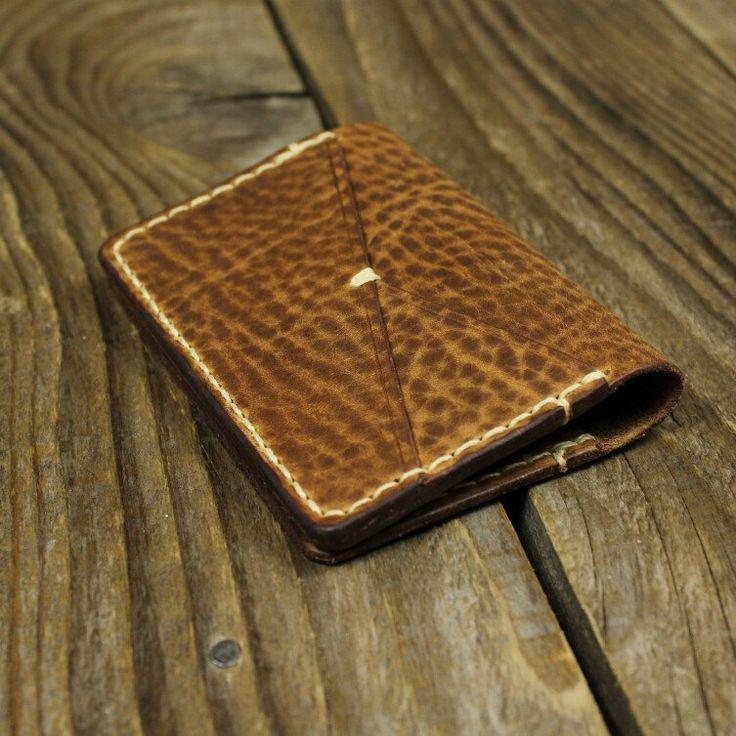 New in shop. Rustic card wallet.