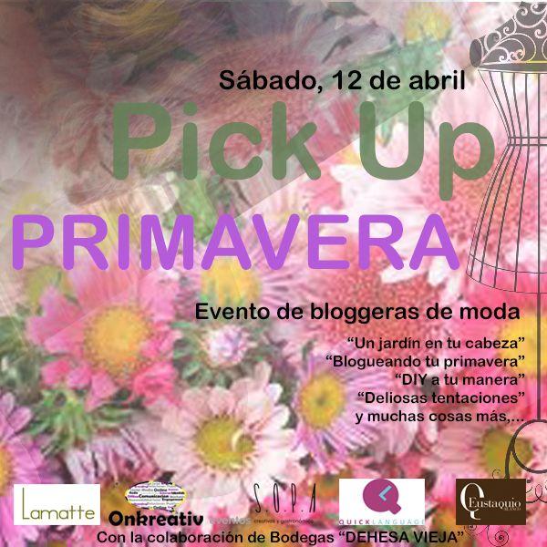 Mañana se reunirán en el restaurante los referentes de la moda extremeña para compartir un día lleno de talleres y buenas vibraciones ¡Pick Up Primavera reúne a las bloggeras de moda de la región! #PickUpPrimavera
