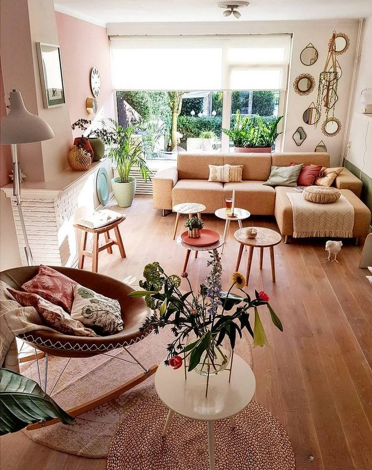 bohemian style home decors with latest designs wohnung. Black Bedroom Furniture Sets. Home Design Ideas