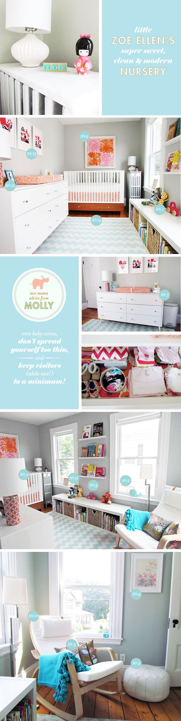 Love love this color scheme: Babies Room, Wall Color, Nursery Ideas, Baby Girl, Modern Nursery, Baby Room, Girl Nursery, Baby Nursery, Kid