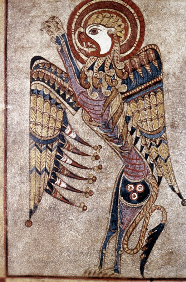 Book Of Kells Saint Mark