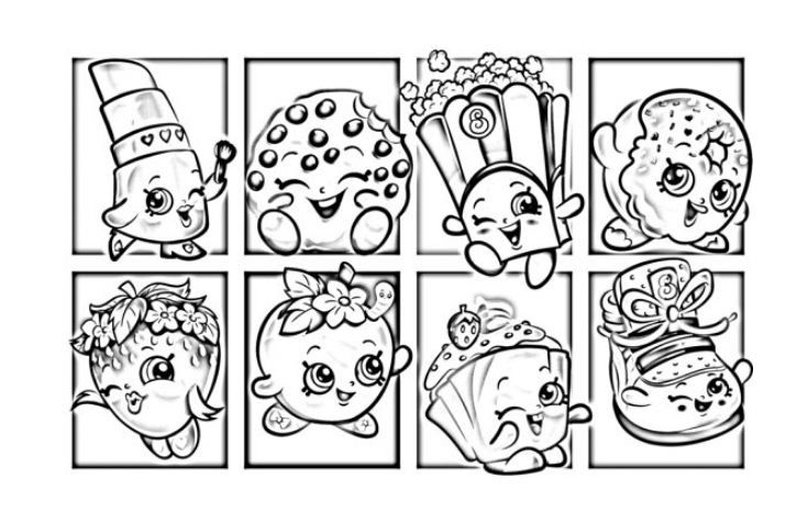 Shopkins Coloring Page Free Shopkins Colouring Pages Unicorn Coloring Pages Coloring Pages