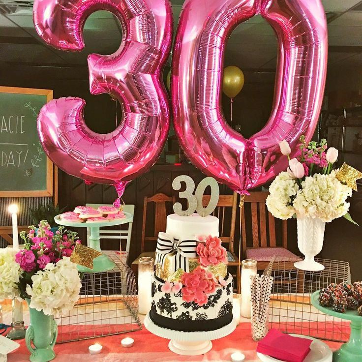 17 best ideas about 30th birthday decorations on pinterest for 30th birthday party decoration