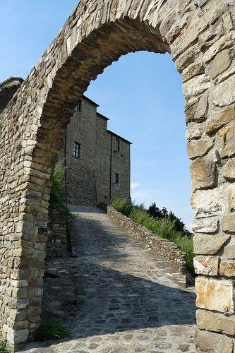 Castello di Castevoli, Mulazzo, Lunigiana, Toscana, Italia