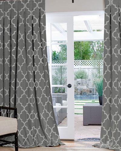 The 25 best custom drapes ideas on pinterest paisley for Window trellis design