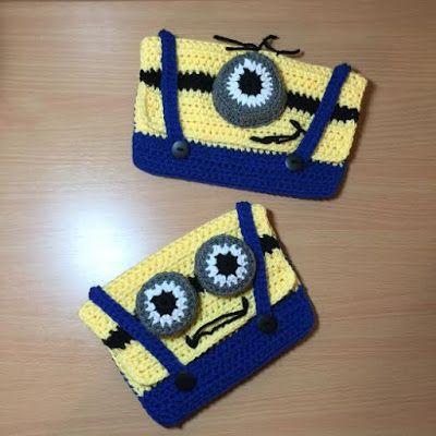 Cómo Crochet Un Minion caja de lápiz | crochet | Pinterest ...