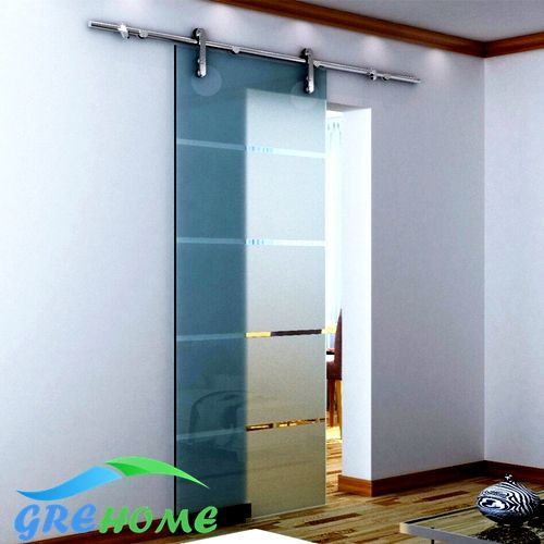 6.6 FT SS 304 sliding glass banr sliding door fittings