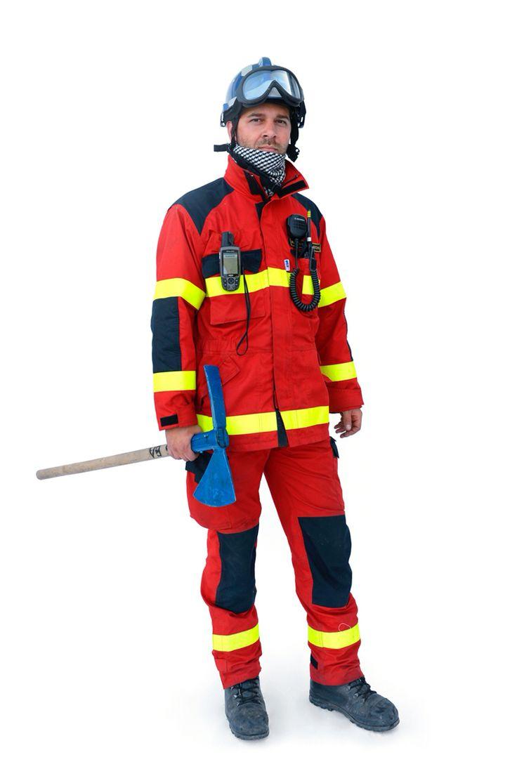 Slovak Firefighter