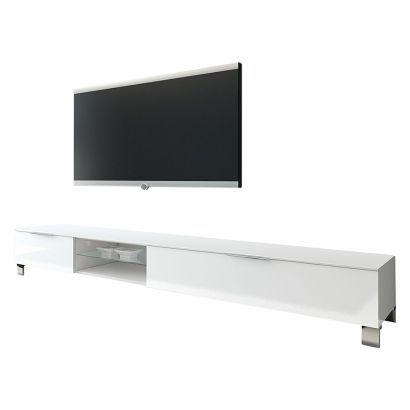 TV-Lowboard Margherita III - Hochglanz Weiß, 379.- / home24.ch