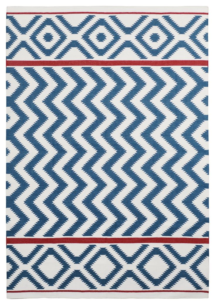 Asan Indigo by The Rug Company | Cotton Flatweave dhurries and kilims