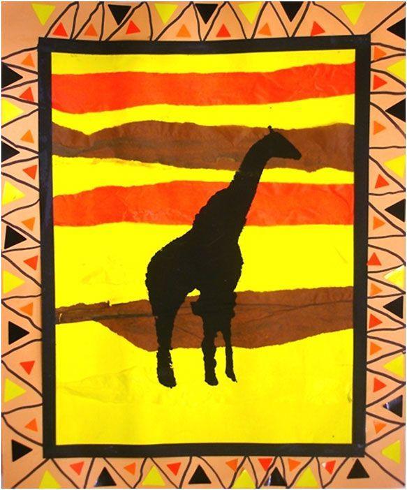 silhouette in africa - חיפוש ב-Google