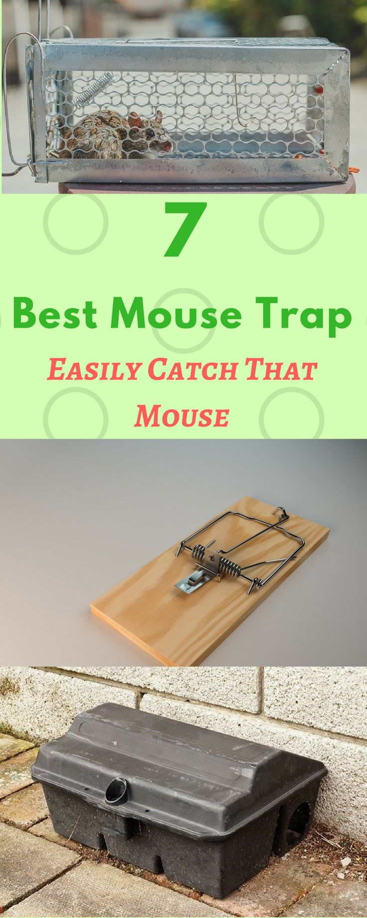 Surely, seeing a live mouse disgusts everyone. You may be tempted to call a pest control professional to address the problem, but it may be not convenient and too costly. Why not invest more simply and cheaply – the best mouse trap!   But, still uncertain what brand to buy? No biggies! Consider any of these best mouse traps you can buy for your next shopping.