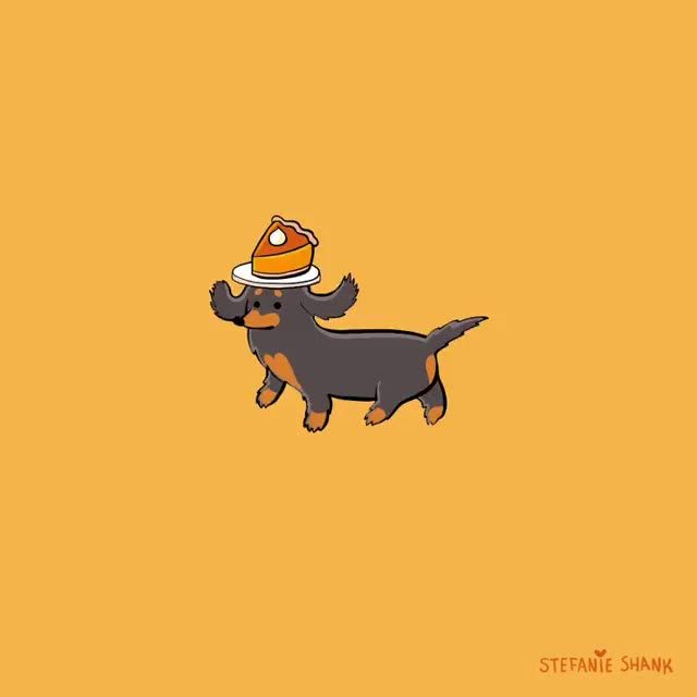 Sausage Dog Animation By @stefanieshank On IG [Video] In