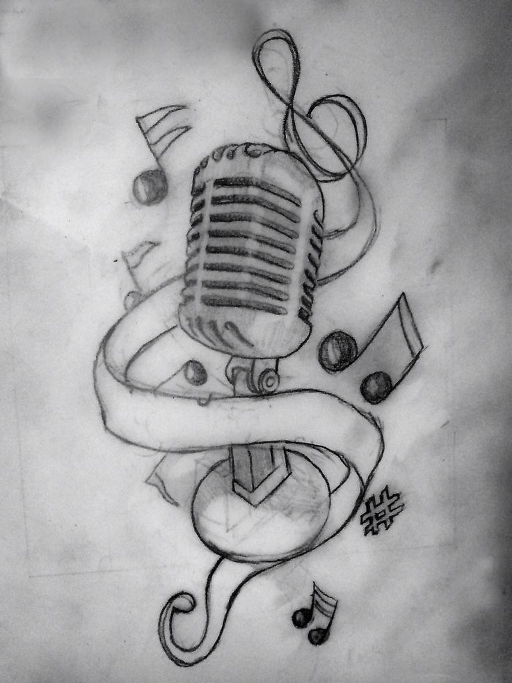 Microphone|tattoos