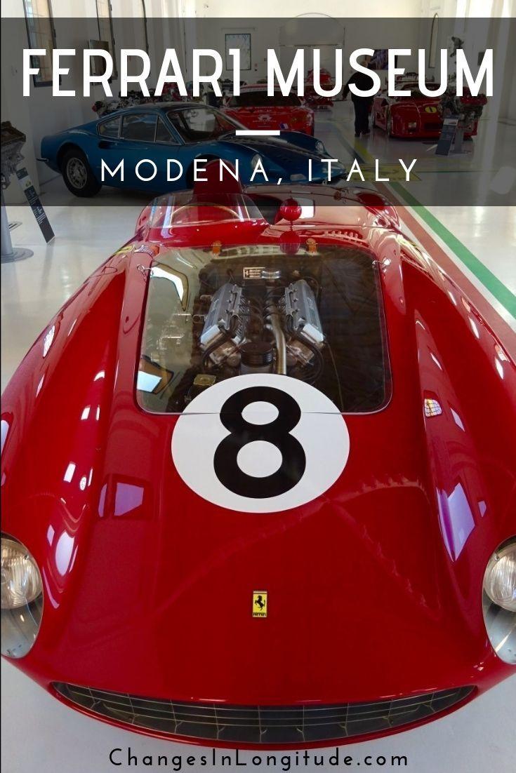 The Enzo Ferrari Museum In Modena Modena Italy Ferrari