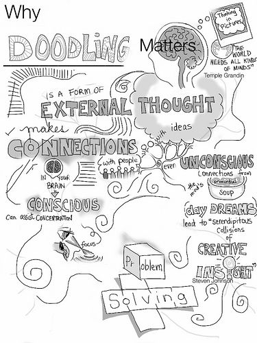 Why Doodling Matters by giulia.forsythe, via Flickr