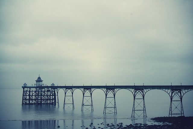"""""""...English Victorian seaside town out of season, Clevedon in December..."""" by Simple Village Girl"""