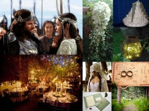 Lord of the Rings WeddingInspiration. You can use anything as inspiration...