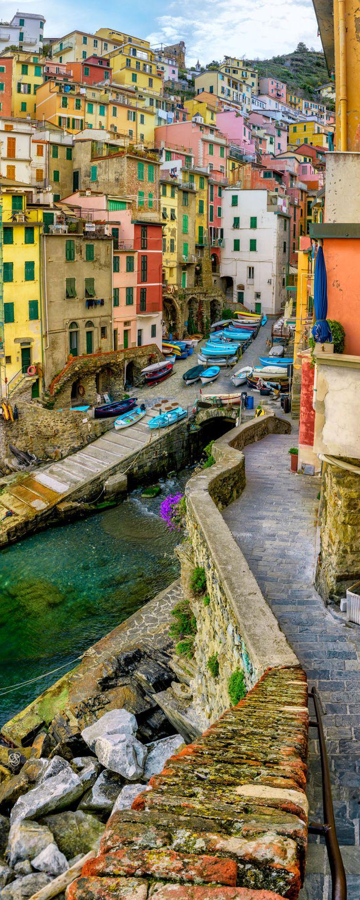 Riomaggiore Wunderbares Ligurien
